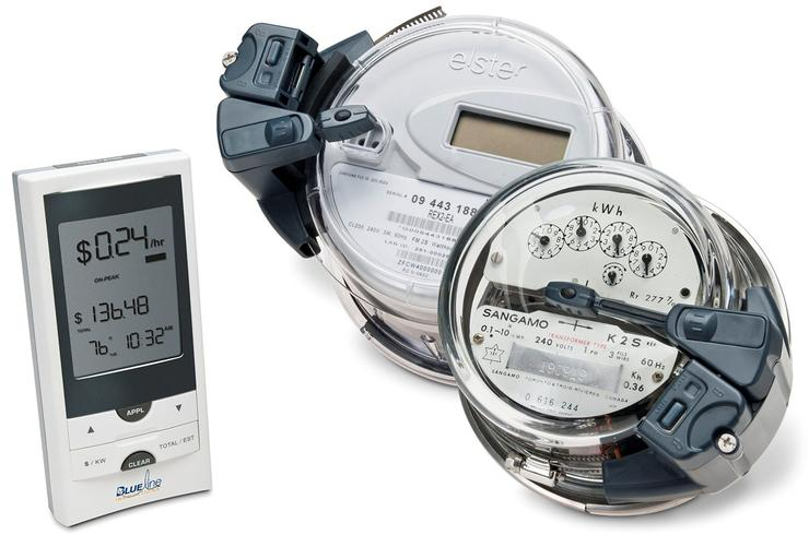 Blue Line PowerCost Monitor