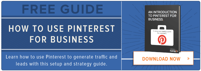 pinterest for business ebook