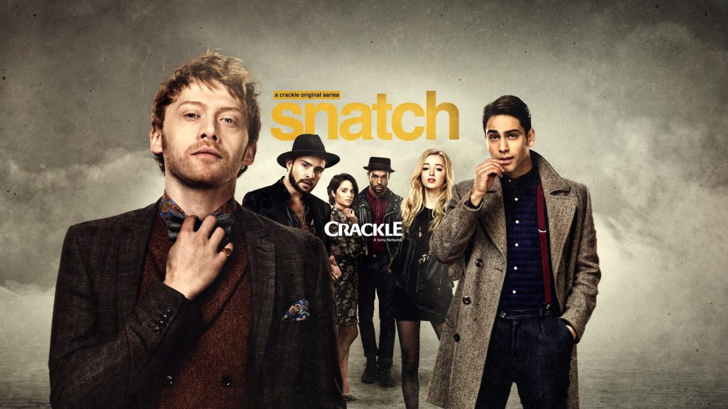 Try Crackle – always free - and enjoy shows like Snatch