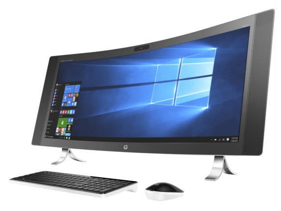 HP ENVY Curve AIO 34