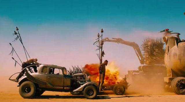 Screen grab from Mad Max Fury Road Trailer
