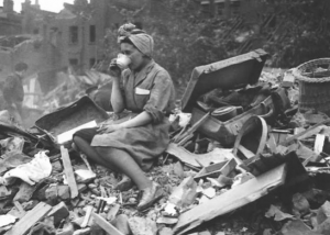 Sipping Tea after the blitz