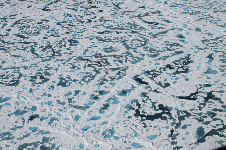 New Model Helps Solve the Mystery of the Arctic's Green Ice
