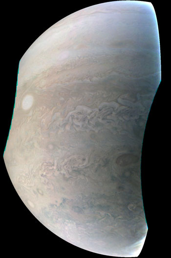 NASA's Juno Spacecraft Captures New Image of Jupiter